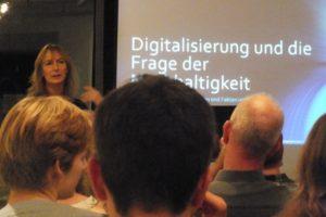Vortrag von Dr. Raphaela Kell der Regionalen Resilienz Aachen
