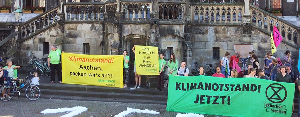 Beteiligung der Regionalen Resilienz Aachen am Runden Tisch  Klimanotstand