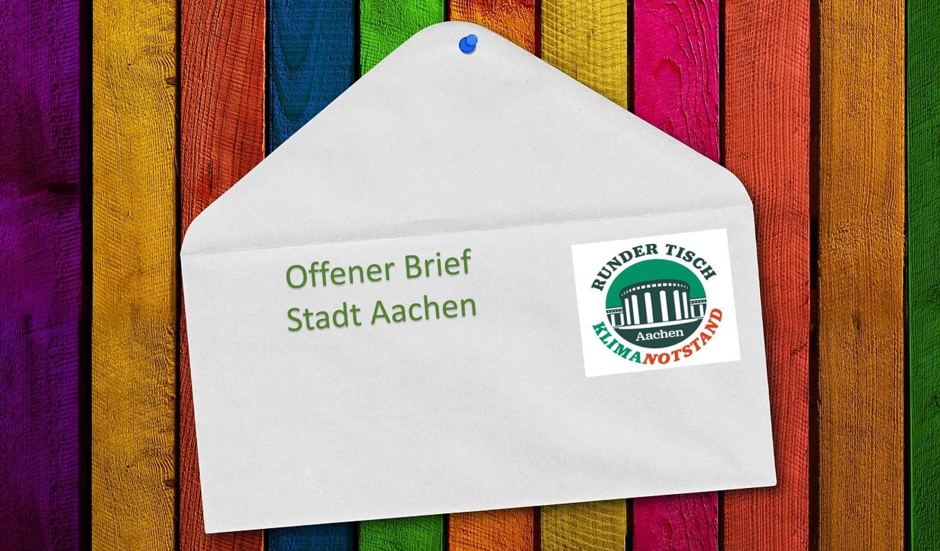 Offener Brief zur Corona-Pandemie an die Politiker*innen der Stadt Aachen