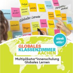 Multiplikator*innenschulung Globales Lernen 2020