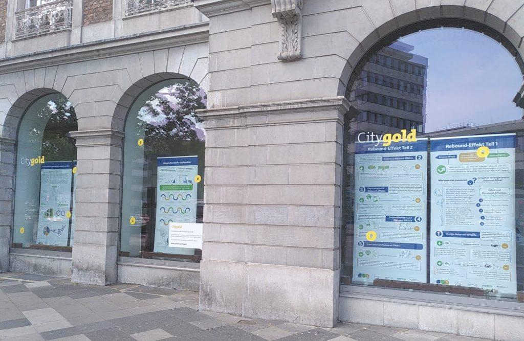 Unsere Ausstellung in der Aachener Innenstadt