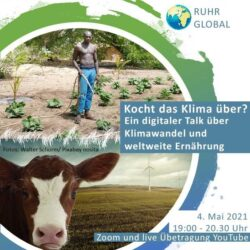 Kocht das Klima über? Ein Talk über Klimawandel und weltweite Ernährung
