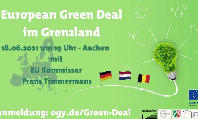 European Green Deal im Grenzland mit EU Kommissar Frans Timmermans